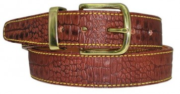 Rock Steady Belt Embossed Alligator