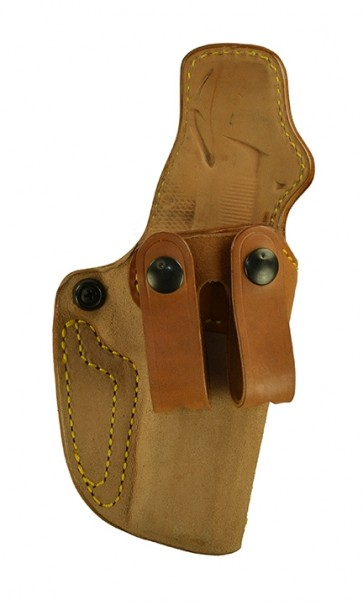 "Down Under for a 1911 4"", 4.25"", r/h, Horsehide, Natural, Straps"