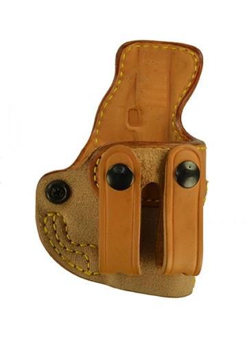 Public Secret for a Glock 42, r/h, Cowhide, Natural, Straps
