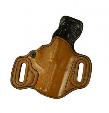 """Exotic Slide Guard for a H&K Compact 3.58"""", r/h, Kangaroo, Light Brown, Leather Lined"""