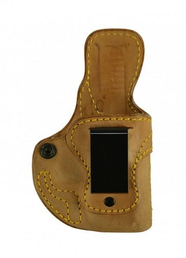 Public Secret for a Glock 26,27,33, r/h, Horsehide, Natural, Clip