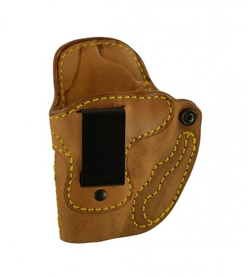 Public Secret for a S&W J Frame, l/h, Horsehide, Natural, Clip