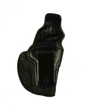Down Under for a Walther PPK, PPKS, r/h, Cowhide, Black, Clip