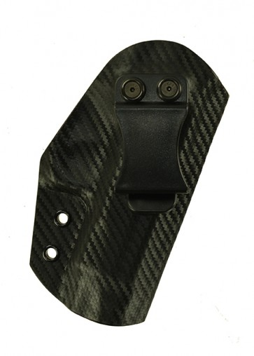 Direct Hit for a CZ 75 Compact, r/h, Carbon Fiber with tan leather lining