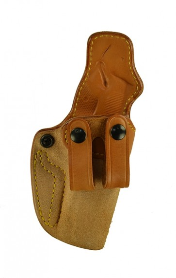 "Down Under for a 1911 4"", 4.25"", r/h, Cowhide, Natural, Straps"