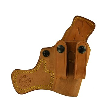 "Tail Gunner for a Bersa Thunder Ultra Compact 9mm 3.25"", r/h, Horsehide, Natural, Straps"