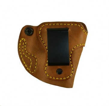 Bare Necessity for a Glock 26,27,33, r/h, Horsehide, Natural, Clip