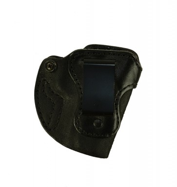 "Bare Necessity for a 1911 3"", r/h, Cowhide, Black, Clip"
