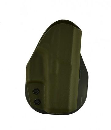 Zero Tolerance Medium for a Glock 43, r/h, Kydex, OD Green, Paddle, Straight Drop