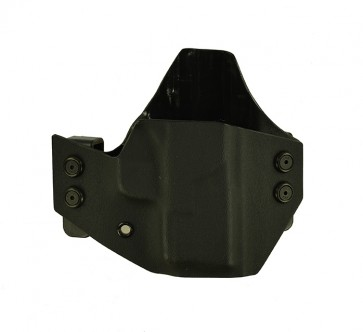 """Baseline for a Springfield XDS 3.3"""", r/h, Kydex, Black, Straight Drop"""