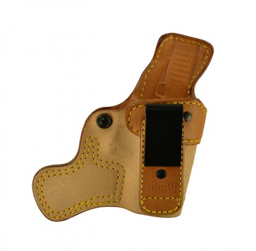 Tail Gate for a Glock 43, r/h, Cowhide, Natural, Tuckable