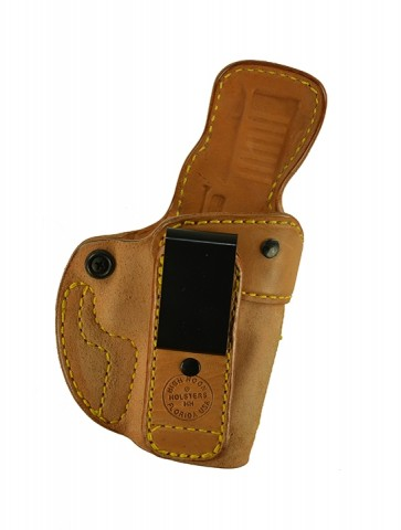 Closing Argument for a Glock 30SF, r/h, Horsehide, Natural, Tuckable