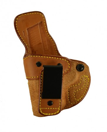 "Closing Argument for a S&W M&P Shield 9,40 3.1"", l/h, Cowhide, Natural, Tuckable"