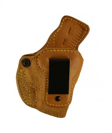 """Down Under for a Ruger LC9 3.12"""", r/h, Cowhide, Natural, Clip"""