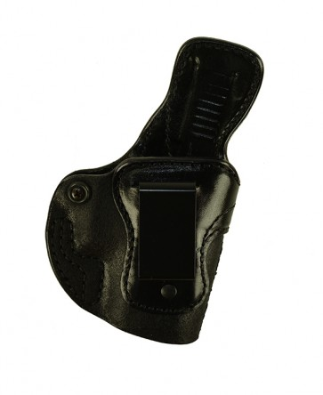 Down Under for a Glock 26,27,33, r/h, Cowhide, Black, Clip