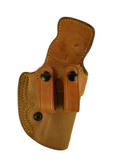 """Down Under for a Beretta 92 C 4.3"""", r/h, Cowhide, Natural, Straps"""