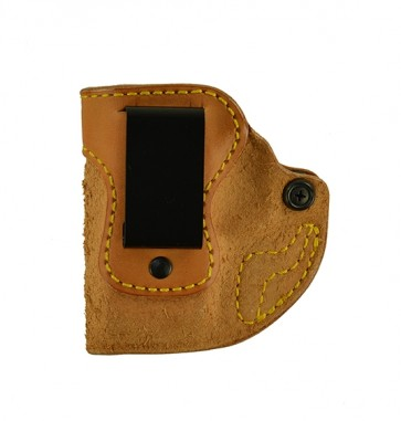 "Hideaway for a Springfield XDS 9,40,45 3.3"", l/h, Cowhide, Natural, Clip"