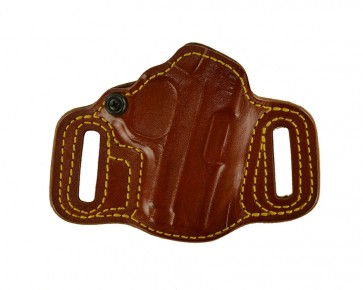 """Topless for a 1911 3"""", r/h, Cowhide, Tan, Lined"""