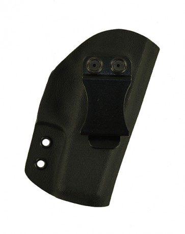 Reaction Lite for a Glock 36, r/h, Kydex, Black, Canted, Clip