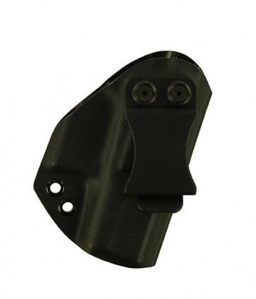 Reaction Lite for a Glock 42,r/h, Kydex, Black, Canted, Clip