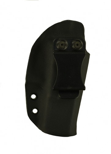 Reaction Lite for a Glock 19,23,32 w/ Trijicon RMR sight Type 1&2, r/h, Kydex, Black, Straight Drop, Clip