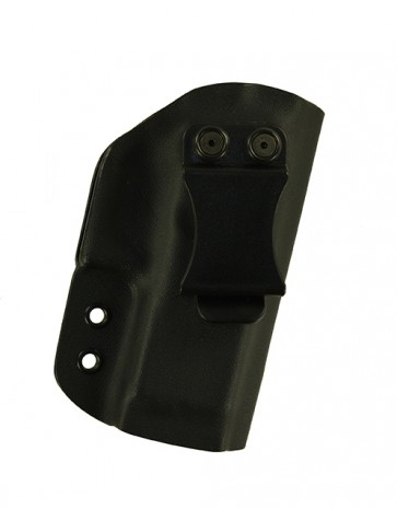 Reaction Extreme for a Glock 30S w/ Rail, r/h, Kydex, Black, Canted, Clip