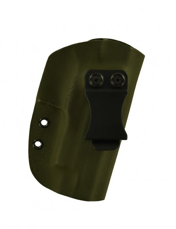 "Reaction Extreme for a Sig 220R 4.4"", r/h, Kydex, OD Green, Canted, Clip"