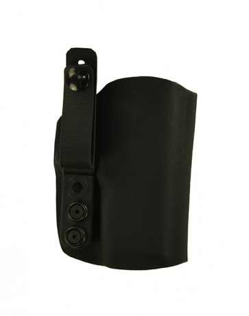 "Instinct Lite for a Springfield XDE 9mm, 3.3"", r/h, Kydex, Black, Straight Drop, Strap"