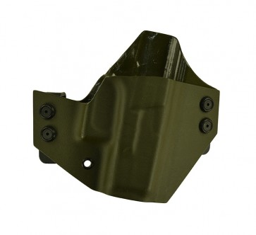 Baseline for a Glock 26,27,33, r/h, Kydex, OD Green, Canted