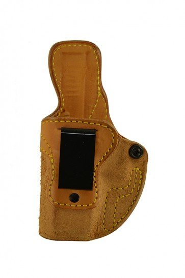 Public Secret for a Glock 19,23,32, l/h, Cowhide, Natural, Clip