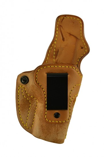 "Down Under for a 1911 3.5"", r/h, Cowhide, Natural, Clip"