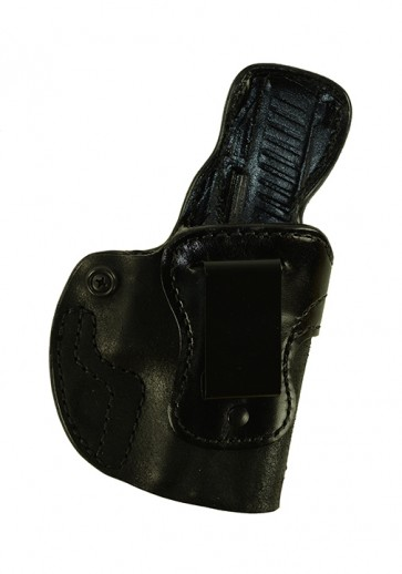 """Down Under for a Walther PPQ M2 4"""", r/h, Horsehide, Black, Clip"""