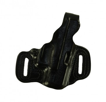 Sky High for a Glock 26,27,33, r/h, Cowhide, Black, Unlined