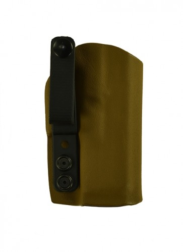 Close Encounter for a Glock 43, r/h, Hybrid, Black, Canted, Clip
