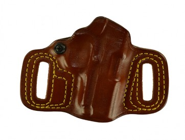 """Topless for a 1911 3"""", r/h, Cowhide, Tan, Unlined"""
