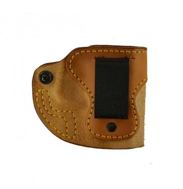 "Upper Limit for a S&W M&P Shield 45cal 3.3"", r/h, Cowhide, Natural, Clip"