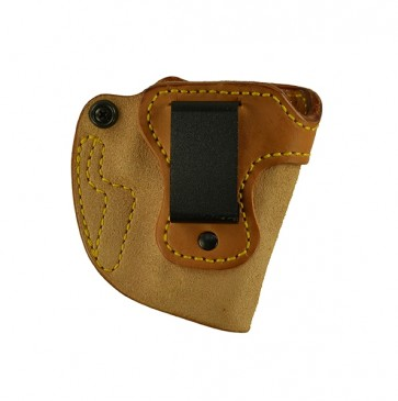 "Bare Necessity for a H&K P2000 3.66"", r/h, Cowhide, Natural, Clip"