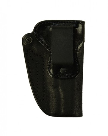 "Hideaway for a 1911 5"" w/ Rails, r/h, Cowhide, Black, Clip"