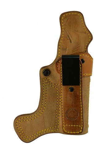 """Tail Gate for a 1911 5"""", r/h, Horsehide, Natural, Tuckable"""