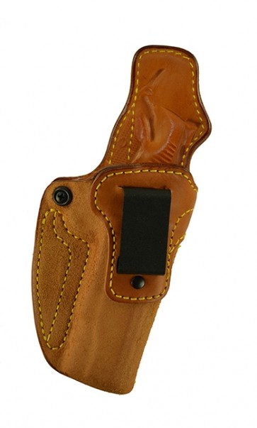 """Down Under for a Dan Wesson Valor 5"""", r/h, Cowhide, Natural, Clip"""