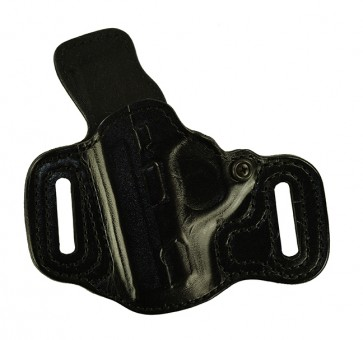 "Slide Guard for a S&W M&P Shield 3.1"", l/h, Cowhide, Black, Lined"