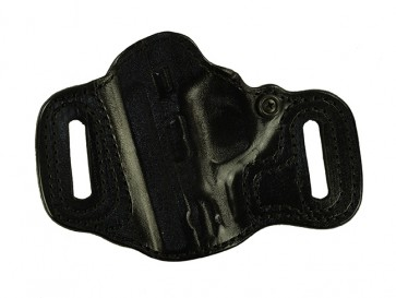 """Topless for a S&W M&P Shield 3.1"""", l/h, Cowhide, Black, Lined"""