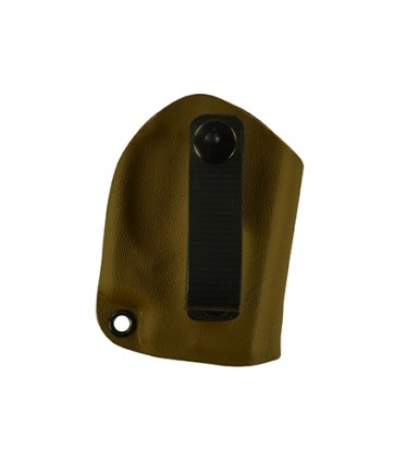 Instinct Lite for a Ruger LCP380 w/ Crimson Trace Laser, r/h, Kydex, Coyote Brown, Straight Drop, Strap