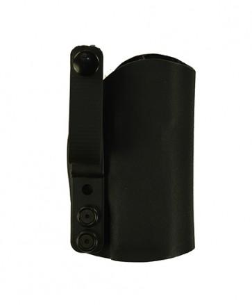 """Instinct Lite for a Sig 320 C 3.9"""", r/h, Black Kydex, Straight Drop, Webbing Belt Strap"""