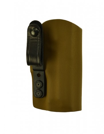 "Instinct Extreme for a Sig 320 4.7"", l/h, Coyote Brown Kydex, Straight Drop, Webbing Belt Strap"