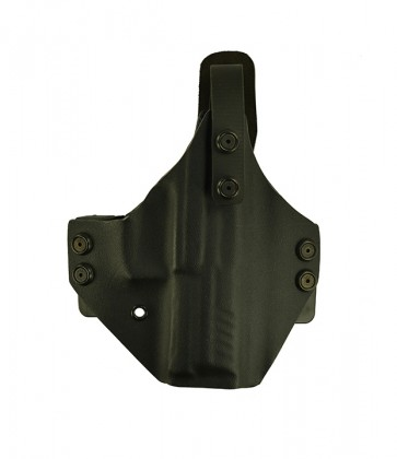 War Hammer Lite for a H&K P30, r/h, Kydex, Black, Straight Drop