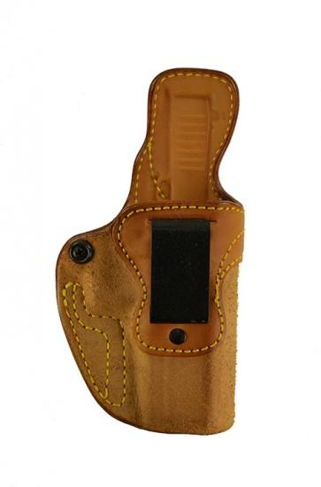 Public Secret for a Glock 17,22,31, r/h, Cowhide, Natural, Clip