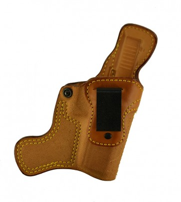 Tail Gunner for a Glock 17,22,31, r/h, Cowhide, Natural, Clip