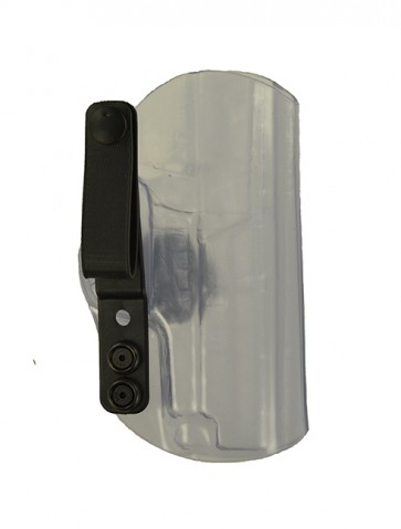 Instinct Extreme for a Sig 224, r/h, Clear Kydex, Straight Drop, Webbing Belt Strap