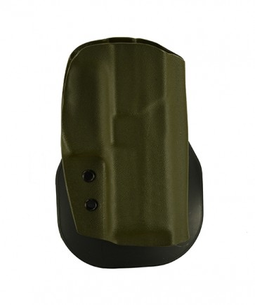 "Zero Tolerance Medium for a H&K VP 9 4.09"", r/h, Kydex, Olive Drab, Paddle, Straight Drop"